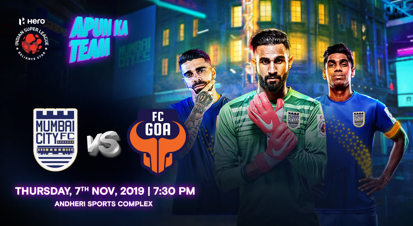 HERO Indian Super League 2019-20: Mumbai City FC vs FC Goa