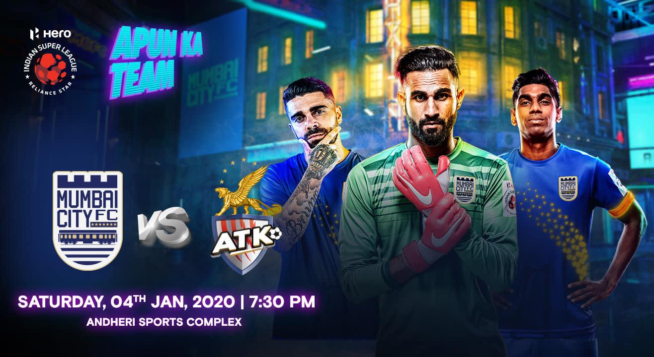 HERO Indian Super League 2019-20: Mumbai City FC vs ATK