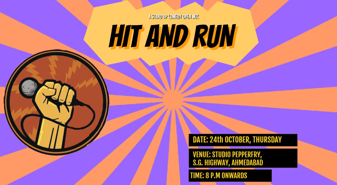 Hit&Run 71.0 - Stand-up comedy open mic