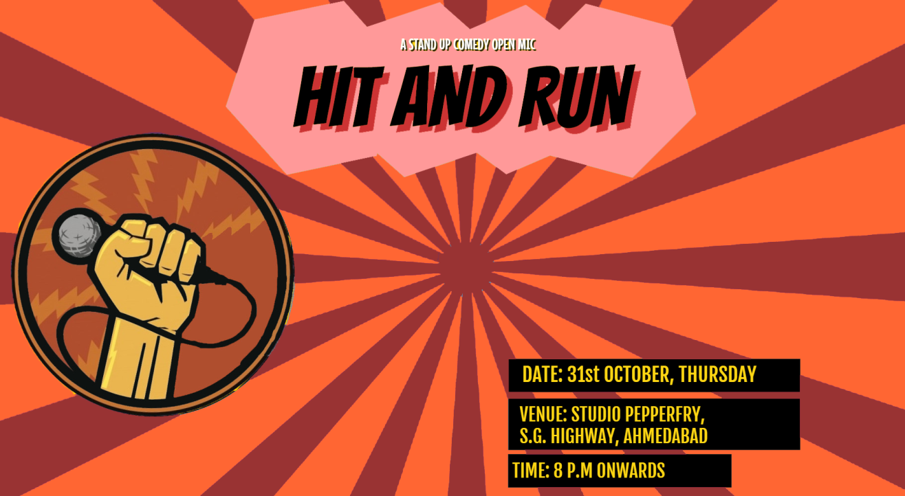 Hit&Run 72.0 - Stand-up comedy open mic