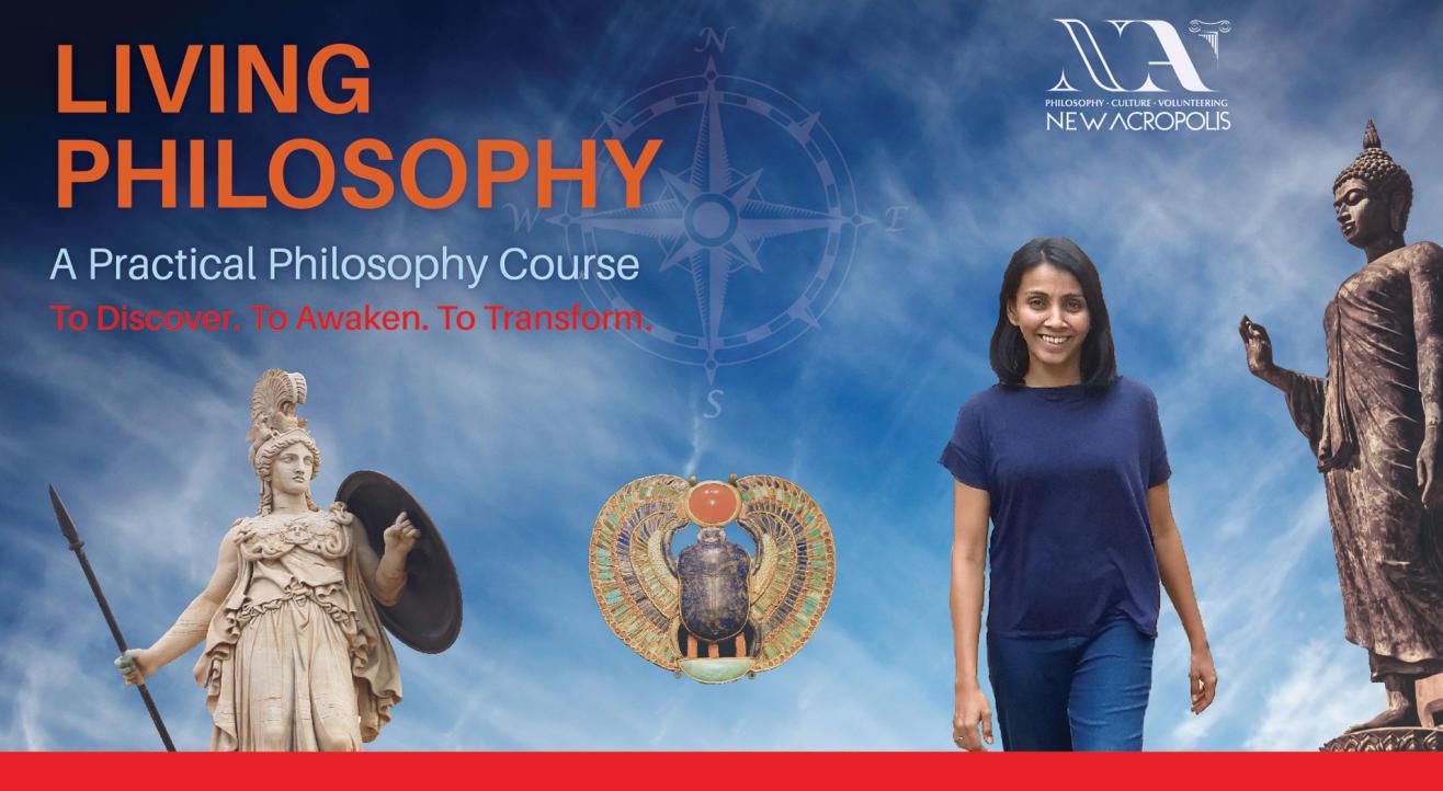 Living Philosophy course | Jan'20 (Fridays, Indiranagar)