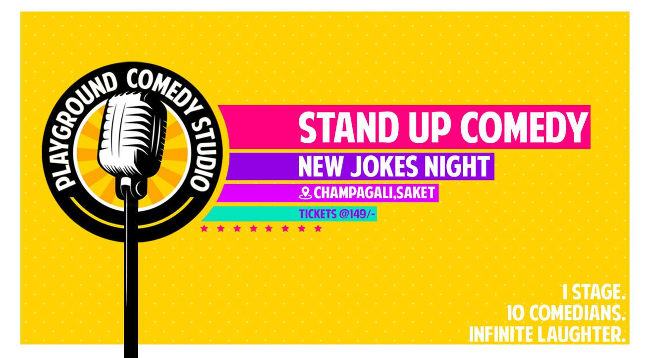 Stand Up Comedy - 10 Comics -  New Jokes