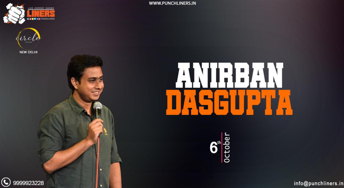 Punchliners Standup Comedy Show ft Anirban Dasgupta | Delhi