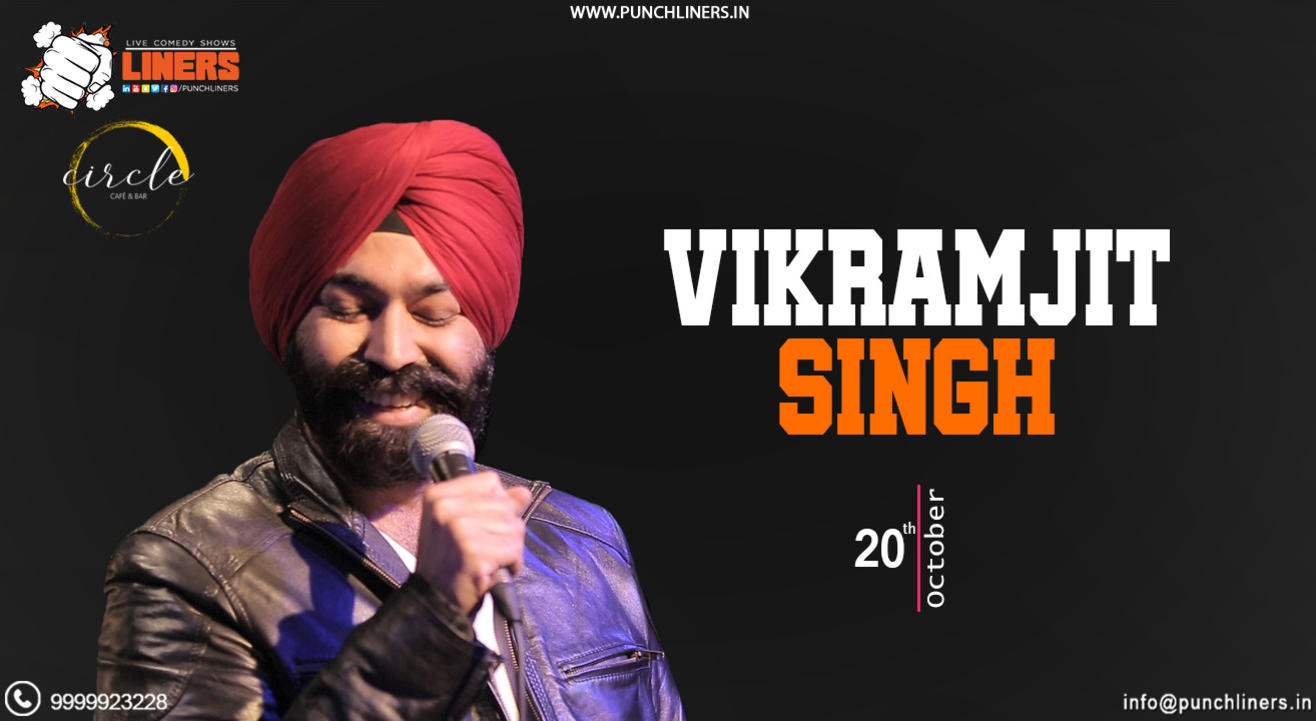 Punchliners Standup Comedy Show ft Vikramjit Singh