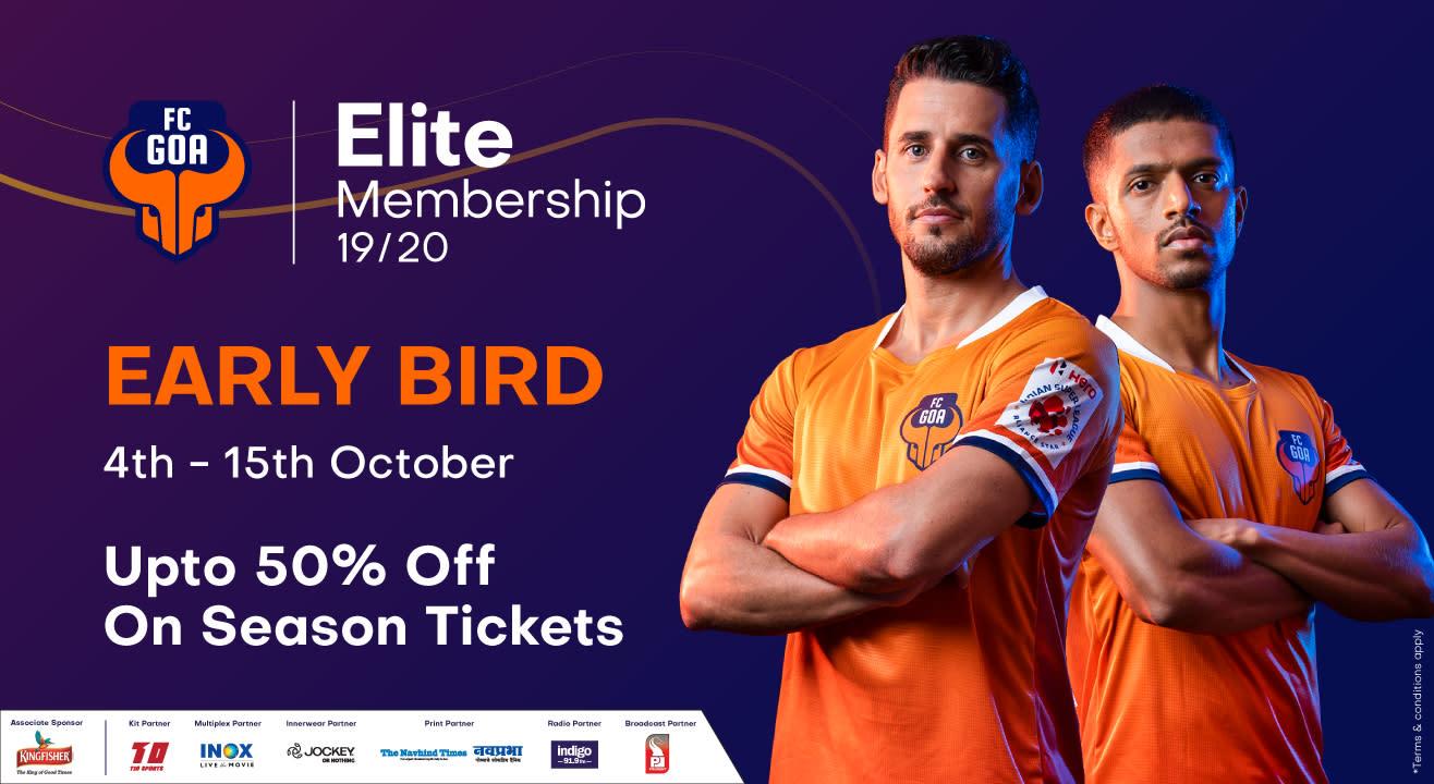 HERO ISL 2019 - 20 : FC Goa Membership