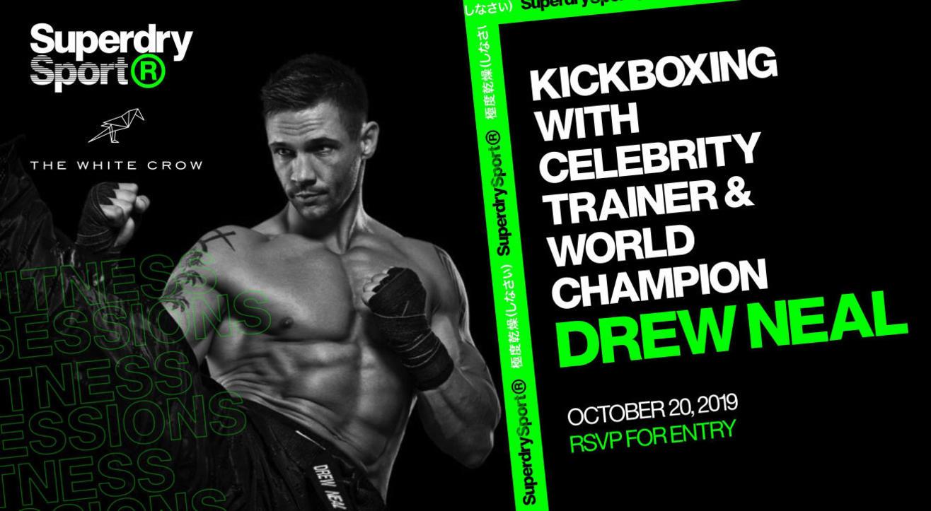 Kickboxing With  World Champion Drew Neal