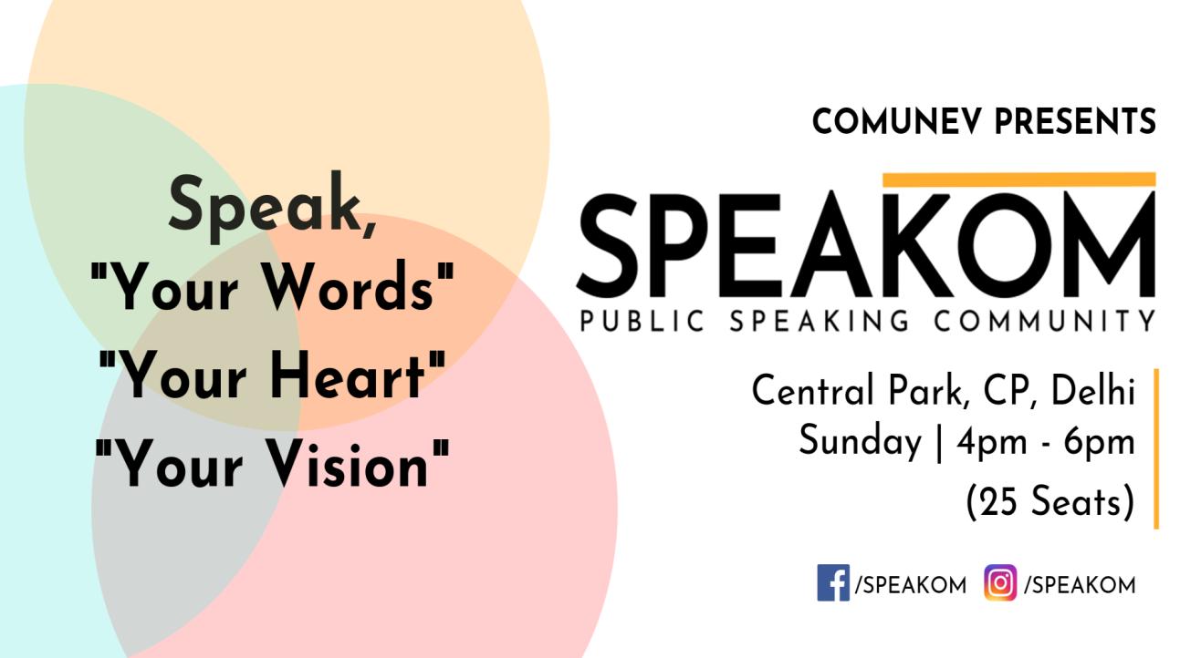 Speakom Delhi - Public Speaking Community