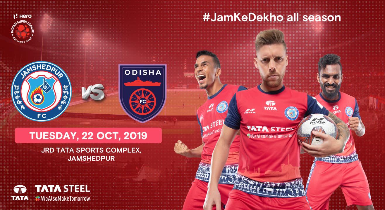 Hero Indian Super League 2019-20: Jamshedpur FC vs Odisha FC