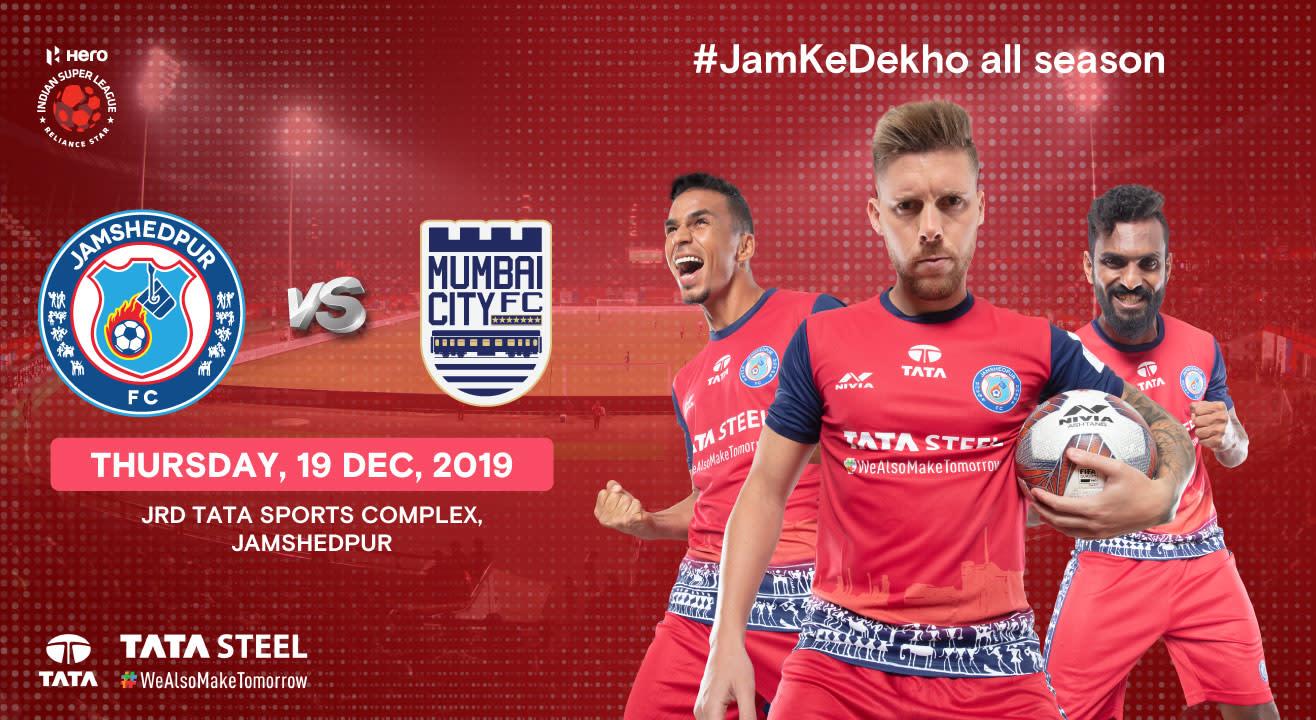 Hero Indian Super League 2019-20: Jamshedpur FC vs Mumbai City FC