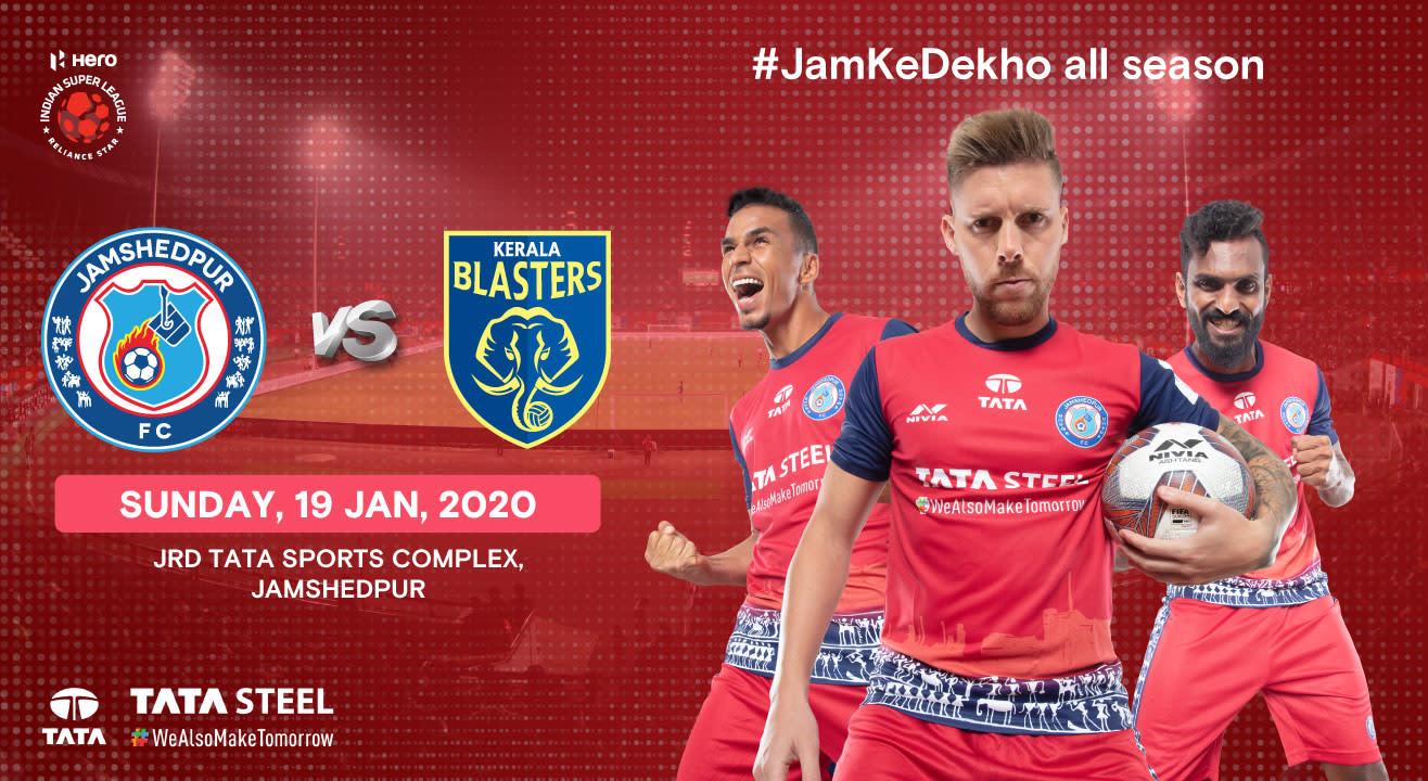 Hero Indian Super League 2019-20: Jamshedpur FC vs Kerala Blasters FC