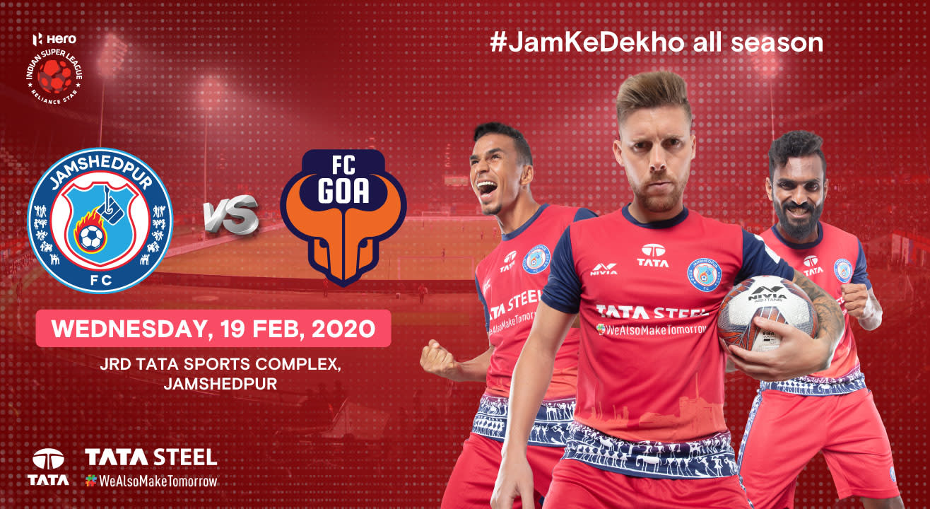 Hero Indian Super League 2019-20: Jamshedpur FC vs FC Goa