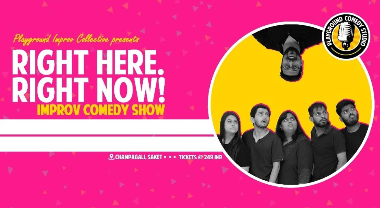 Improv Comedy Show ft. Playground Improv Collective