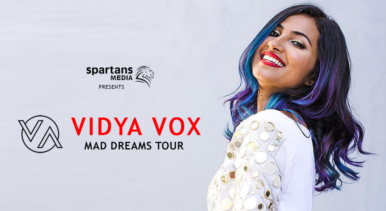 Vidya Vox – Mad Dreams Tour | Hyderabad