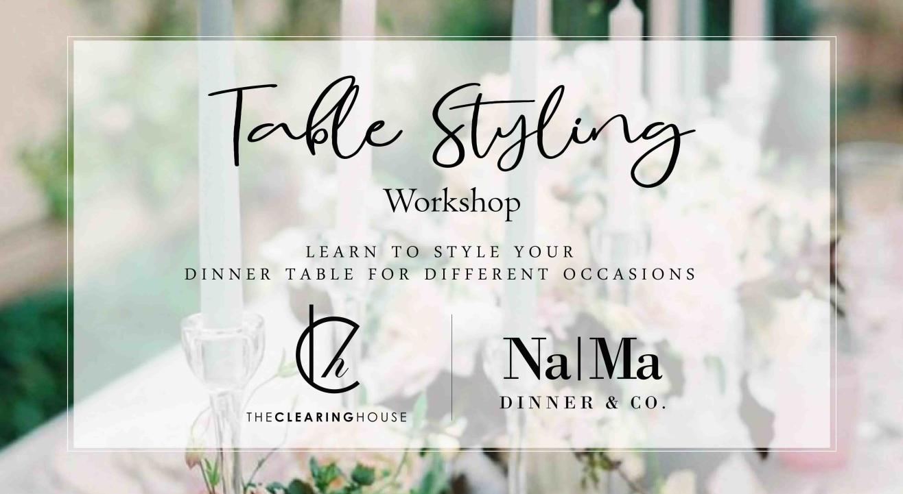 Table Styling Workshop