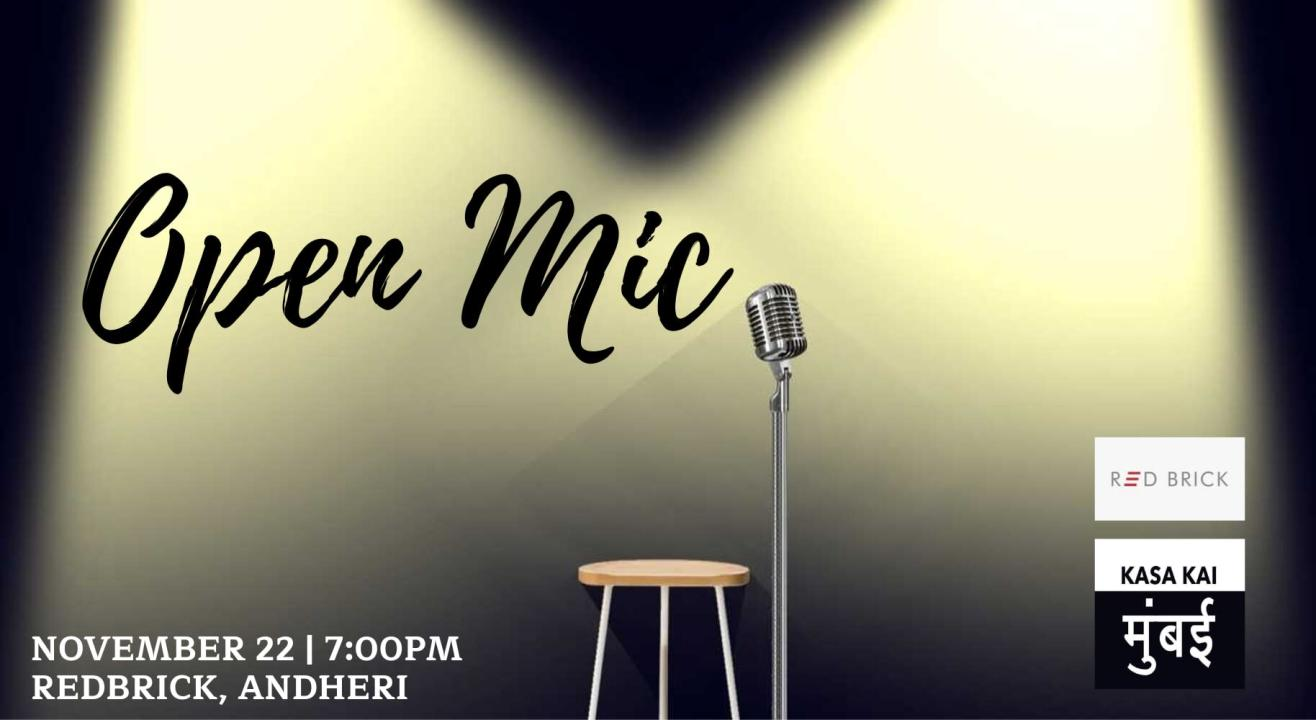 Open Mic At Redbrick,  Andheri