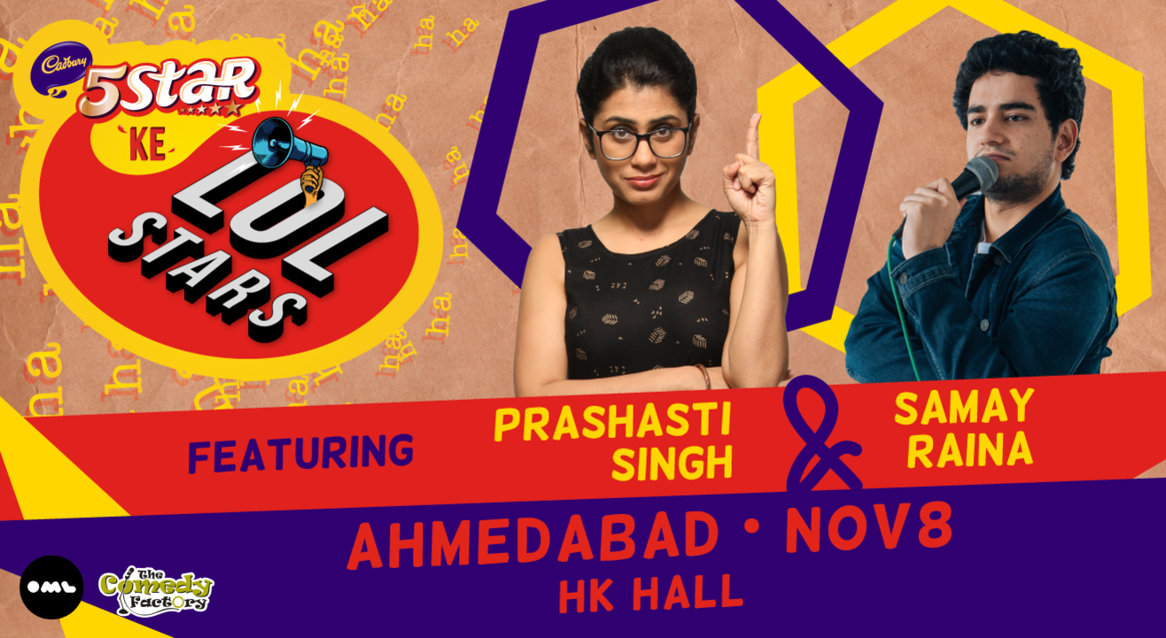 5 Star Ke LOLStars ft Prashasti Singh & Samay Raina | Ahmedabad