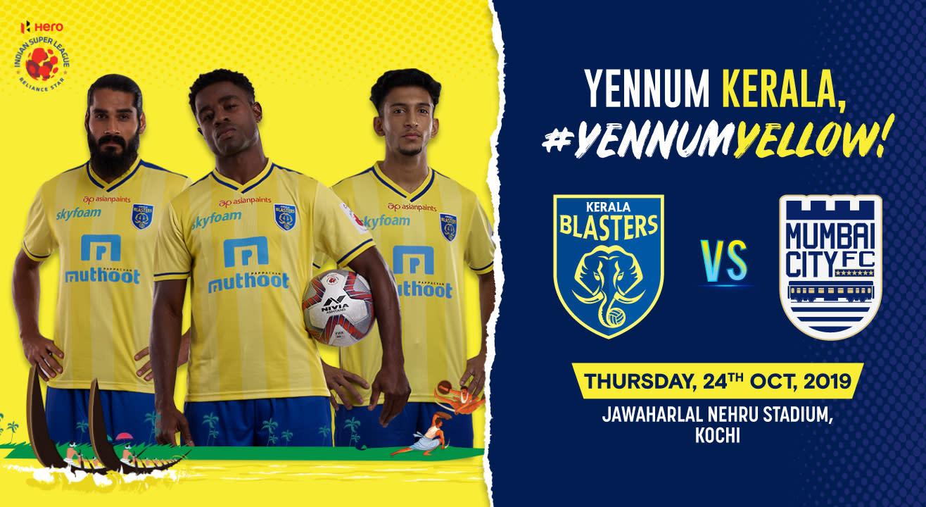 Hero Indian Super League 2019-20: Kerala Blasters FC vs Mumbai City FC