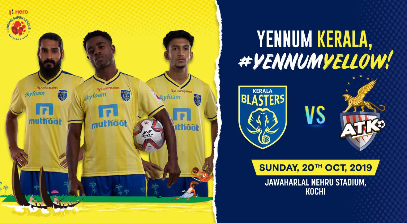 Hero Indian Super League 2019-20: Kerala Blasters FC vs ATK