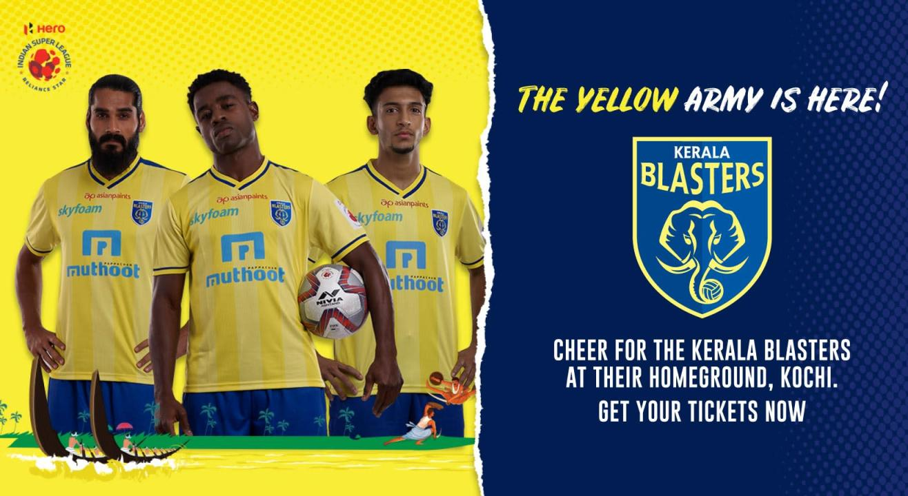 Indian Super League 2019-2020: Kerala Blasters FC: Match Tickets, Ticket Offers, Schedule & More