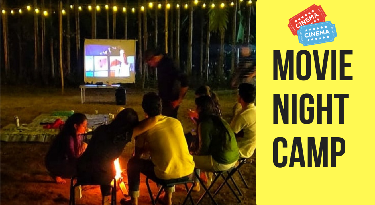 Outdoor Movie Night and Live Music Camp