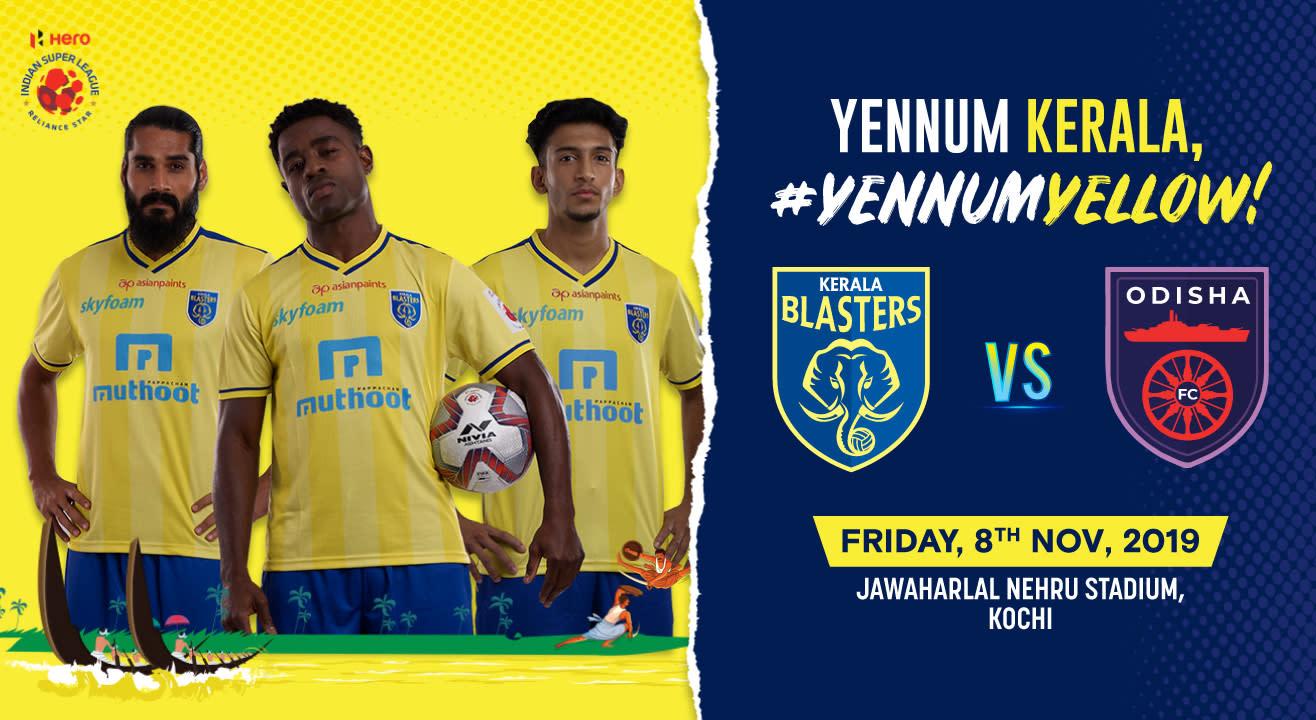 Hero Indian Super League 2019-20: Kerala Blasters FC vs Odisha FC