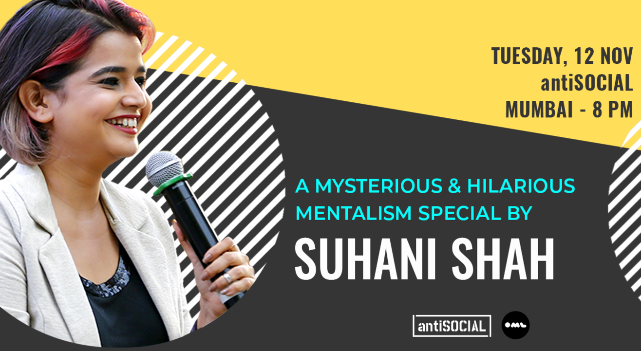 Mentalism Special by Suhani Shah: Mumbai
