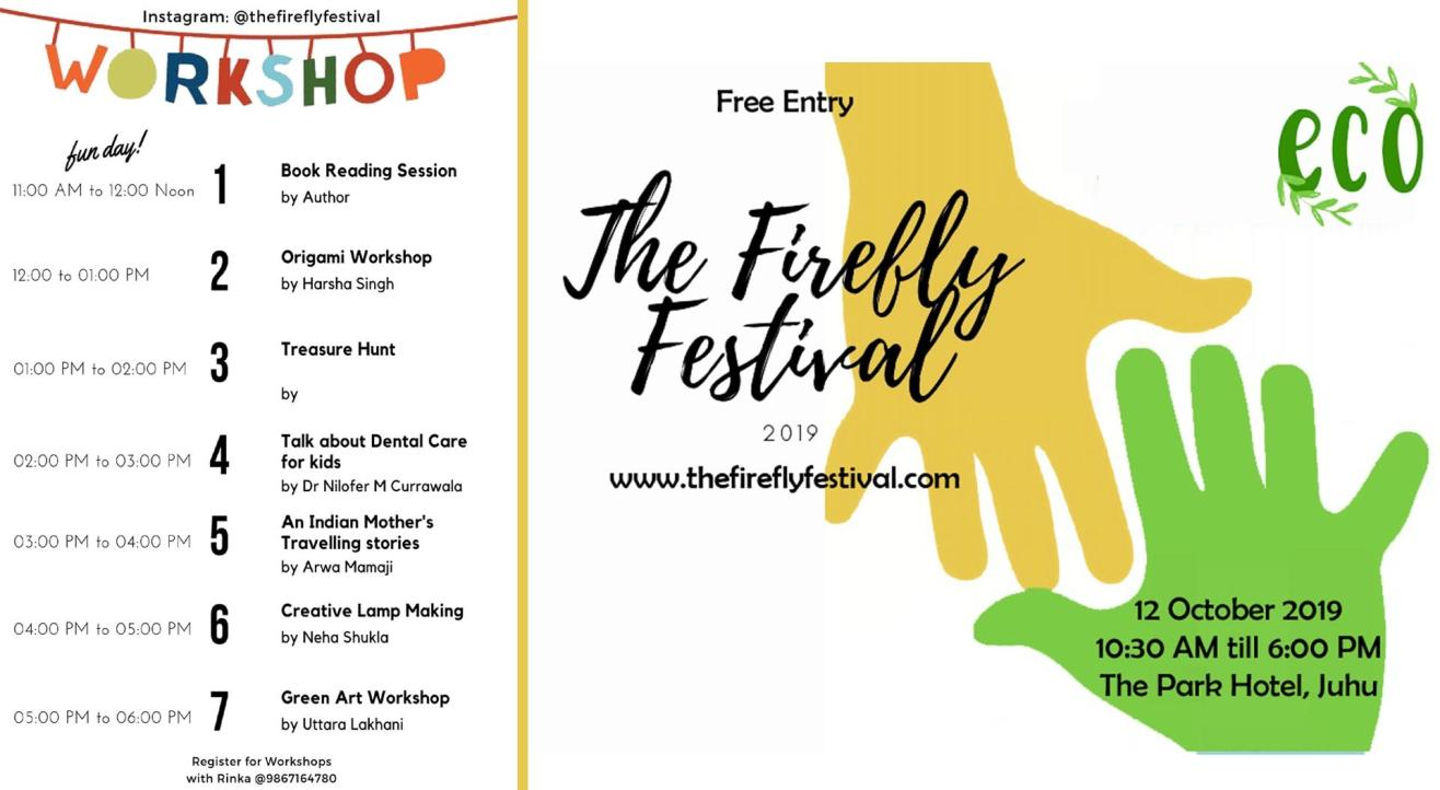 The Firefly Festival 2019 - A Pop Fun Event For Kids And Mothers