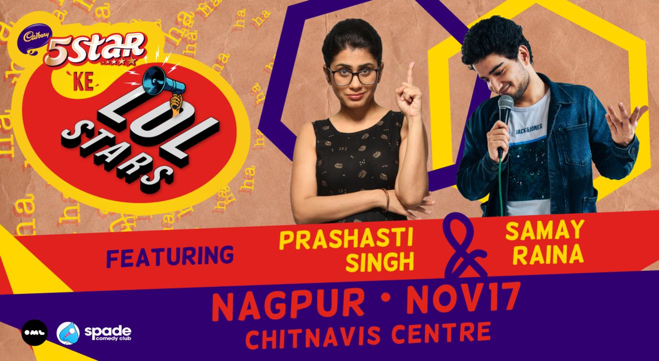 5 Star Ke LOLStars ft Prashasti Singh & Samay Raina | Nagpur