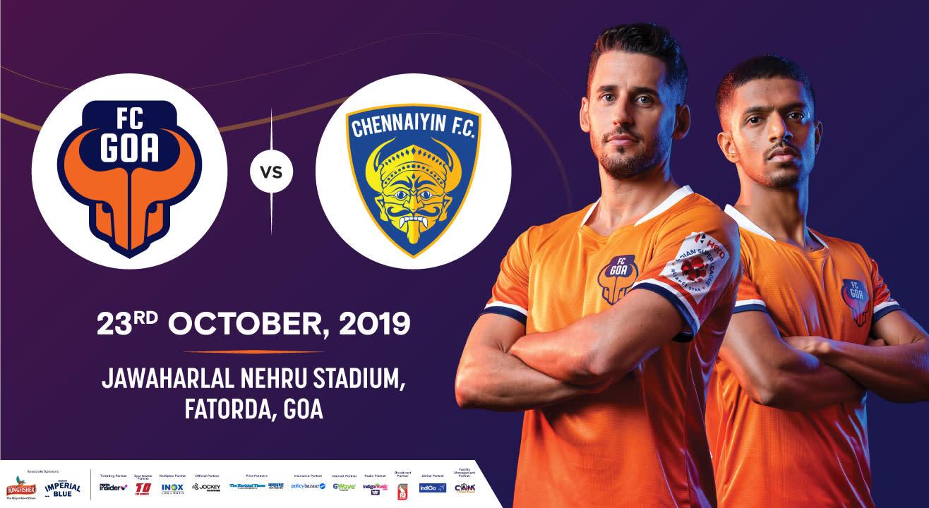Hero Indian Super League 2019-20: FC Goa Vs Chennaiyin FC