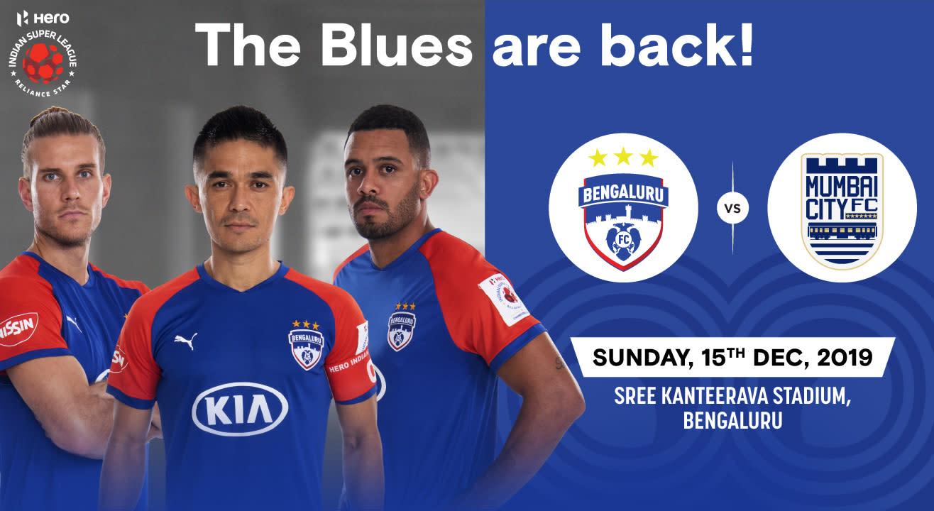 Hero Indian Super League 2019-20: Bengaluru FC vs Mumbai City FC