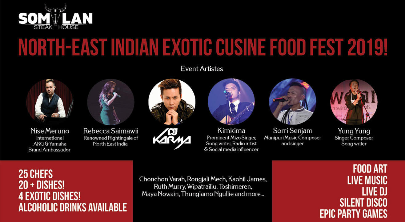North East Indian Exotic Cuisine Food Fest 2019!