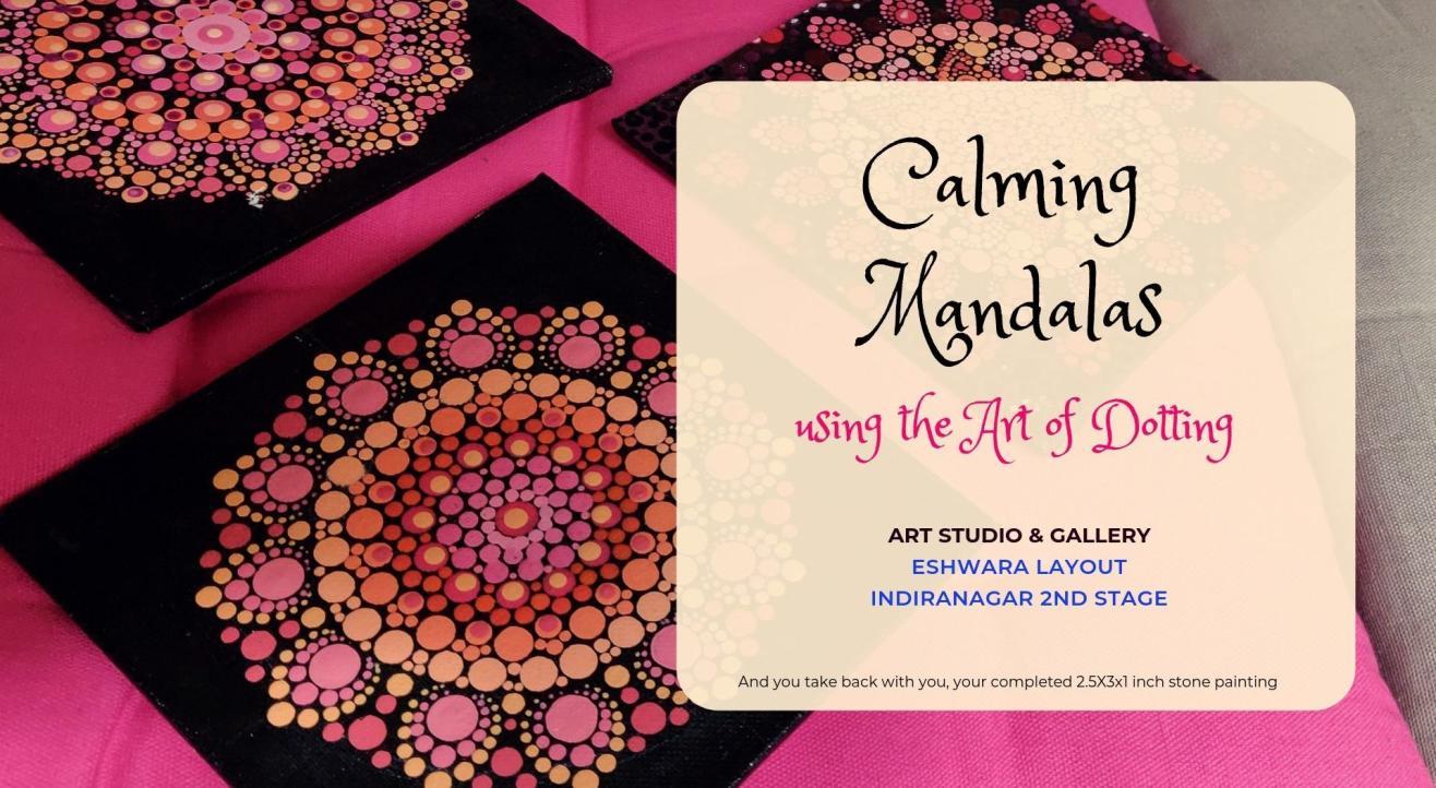 Calming Mandalas using the Art of Dotting