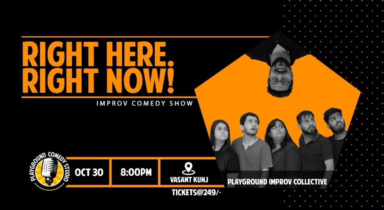 Improv Comedy Show ft. Playground Improv
