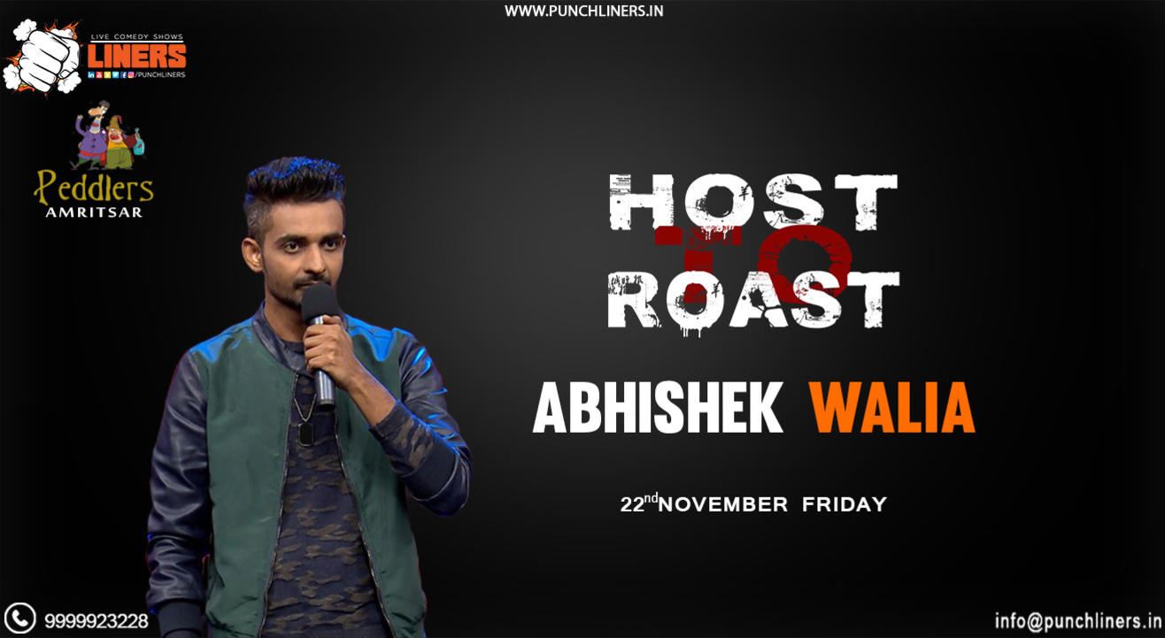 Punchliners: Host to Roast ft Abhishek Walia