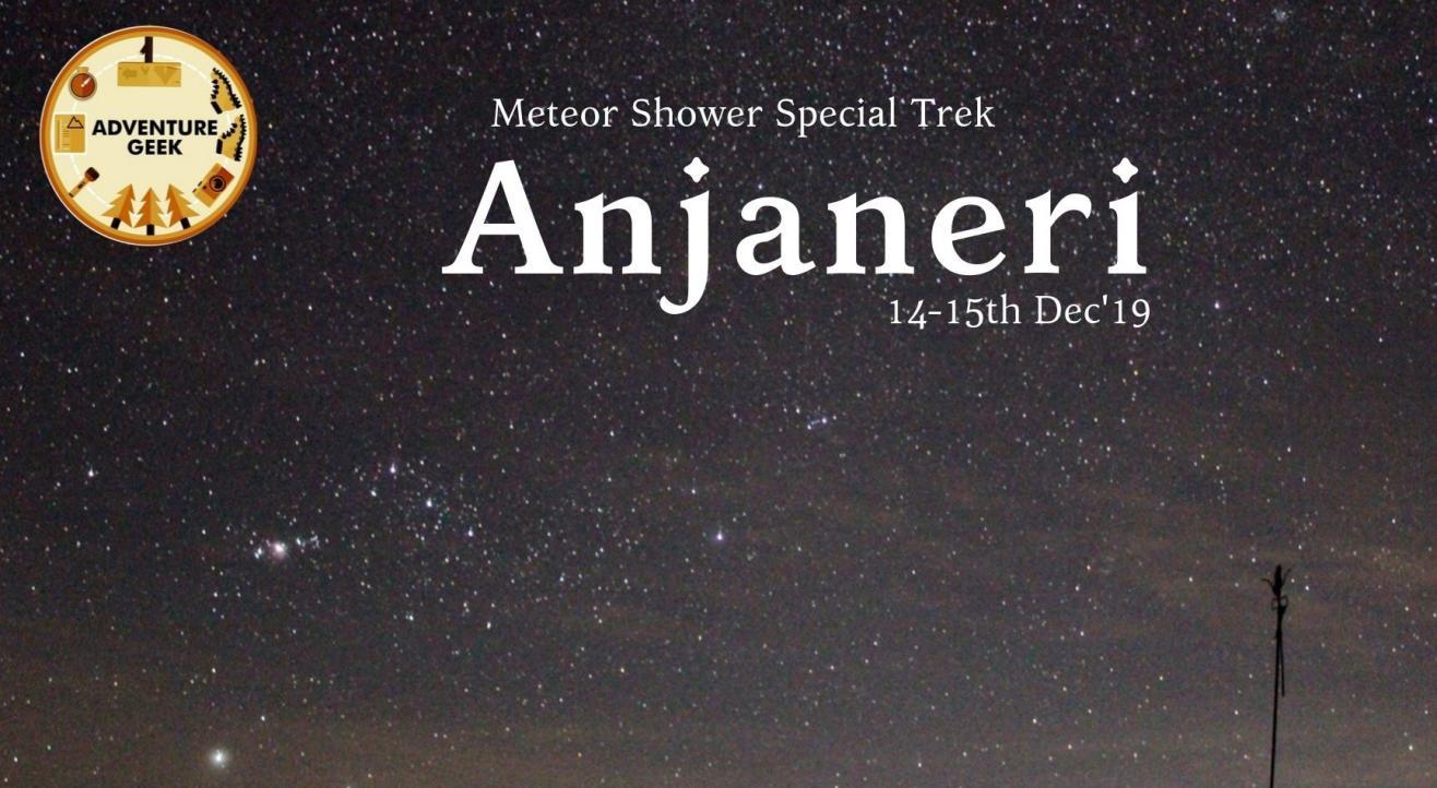 Meteor Shower Special Trek to Anjaneri Fort