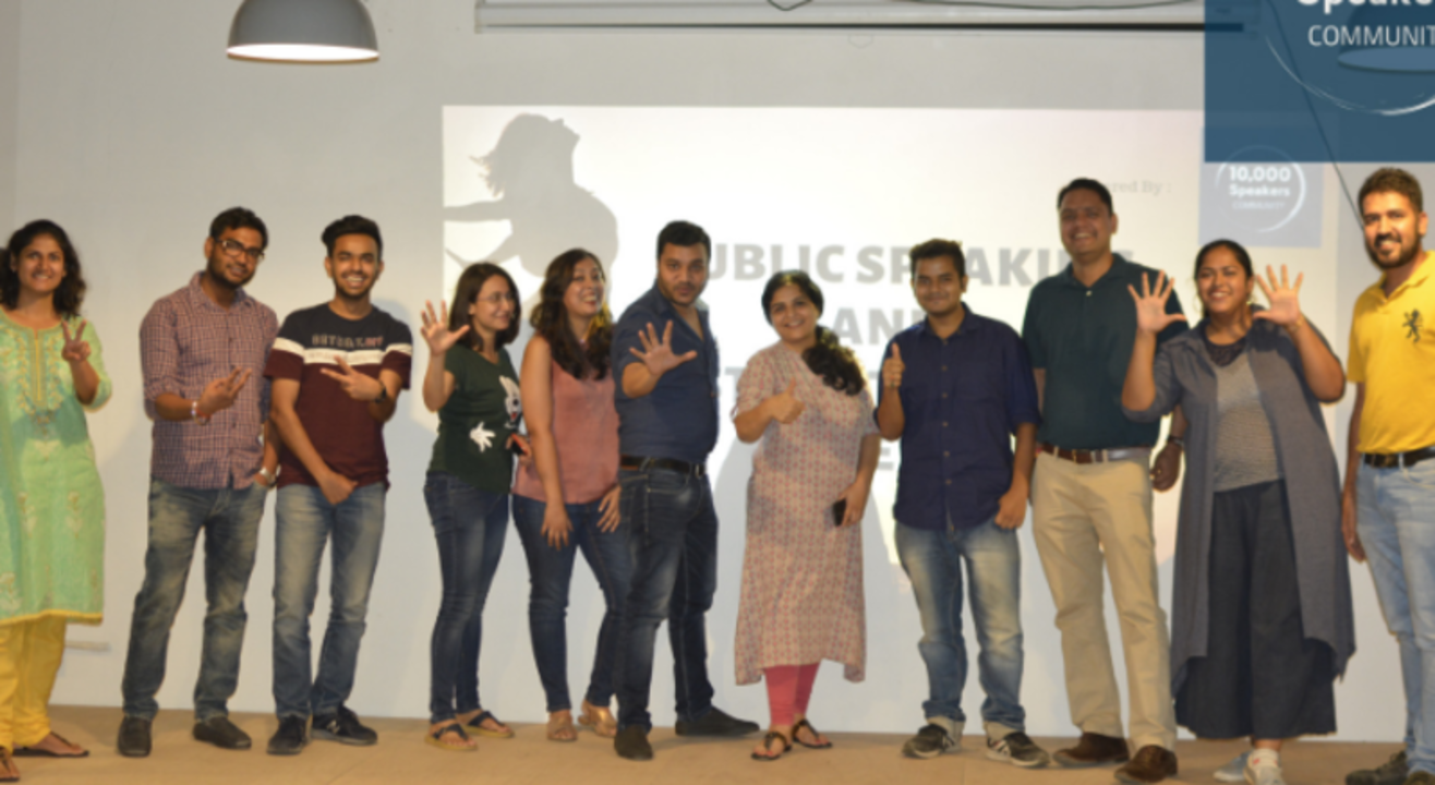55 Public Speaking and Storytelling Meetup
