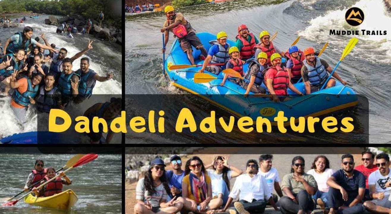 Dandeli Adventures, River Rafting, Water Sports, Camping   Muddie Trails, Hyderabad