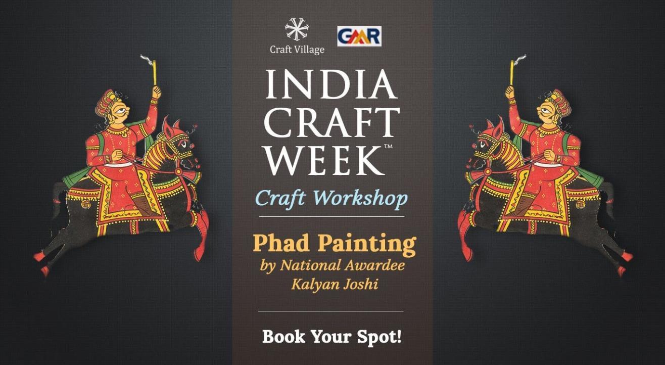 Phad Painting Workshop | India Craft Week 2019