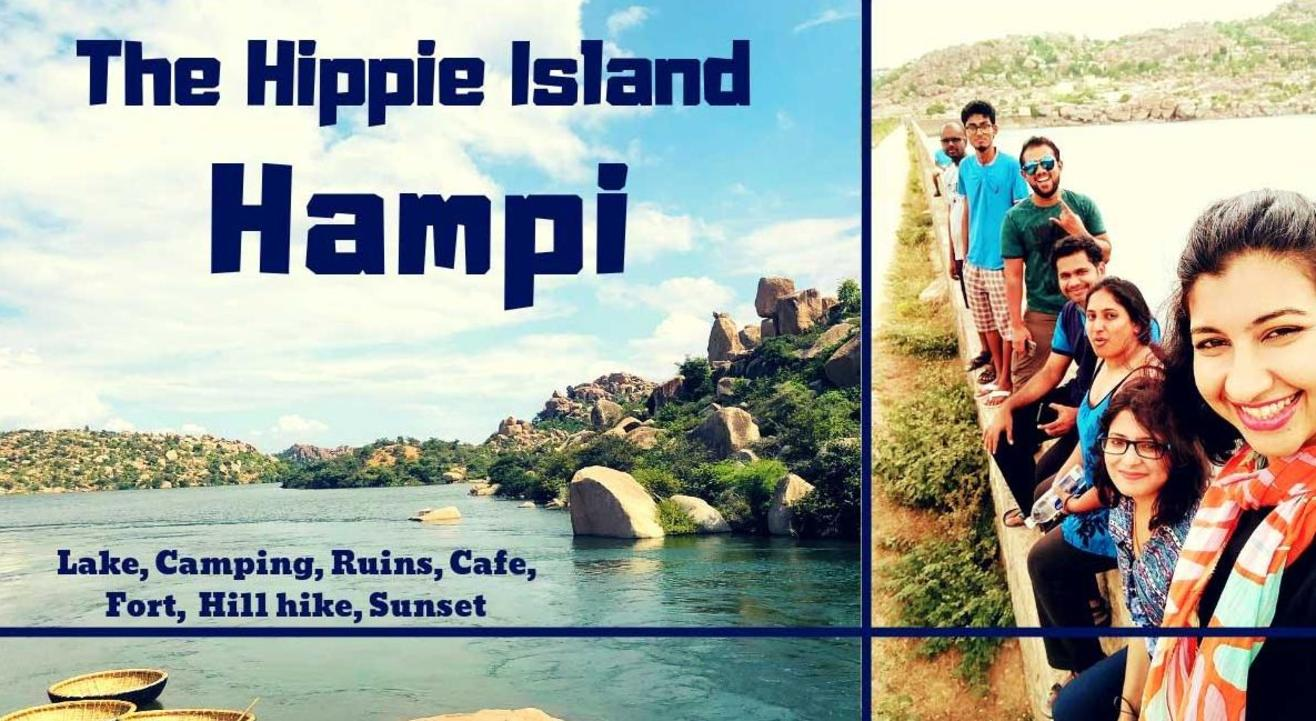 Hampi – Hippie Island, Monuments, Lake, Camp & Hike meetup | Muddie Trails, Hyderabad