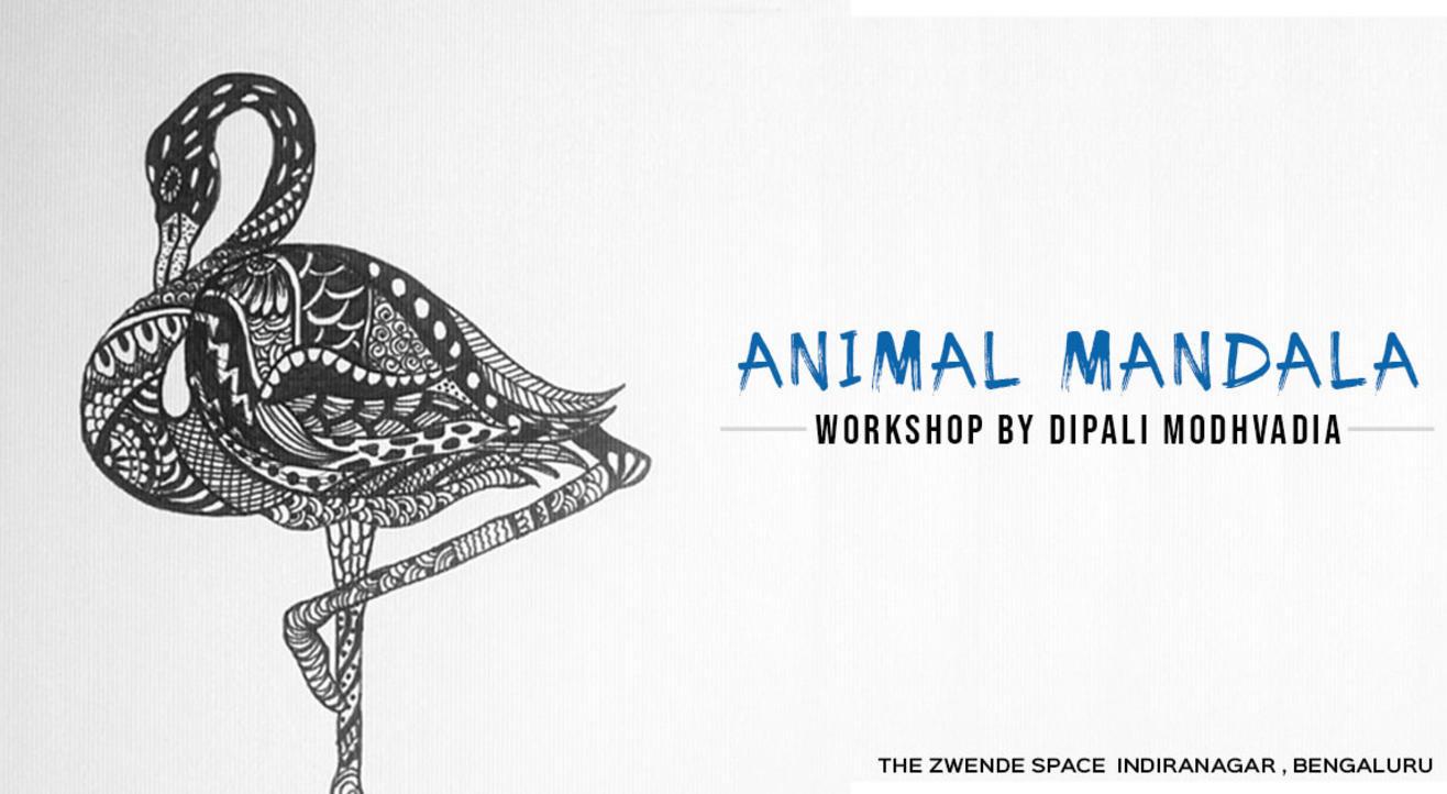 Animal Mandala Workshop by Dipali Modhvadia