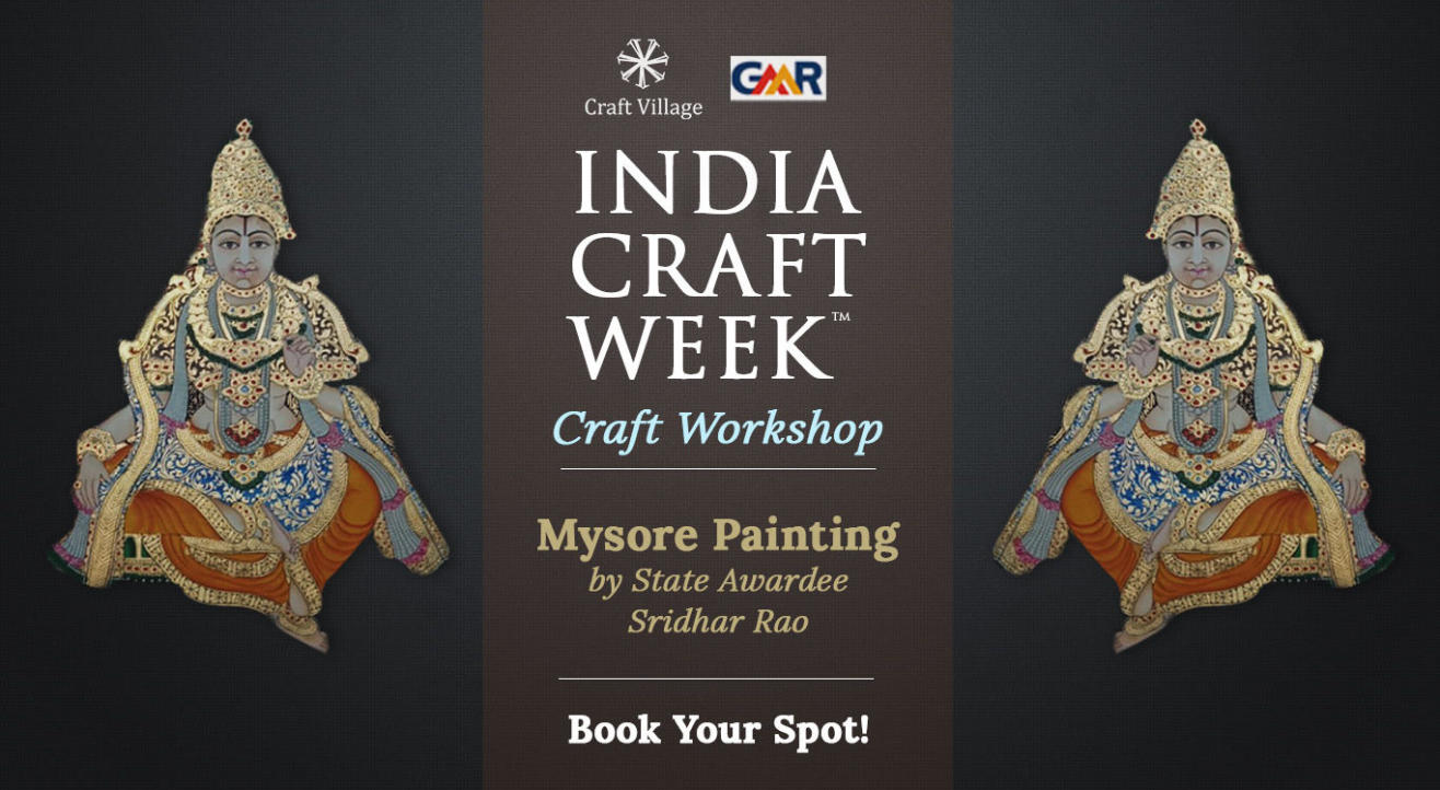 Mysore Painting Workshop | India Craft Week 2019