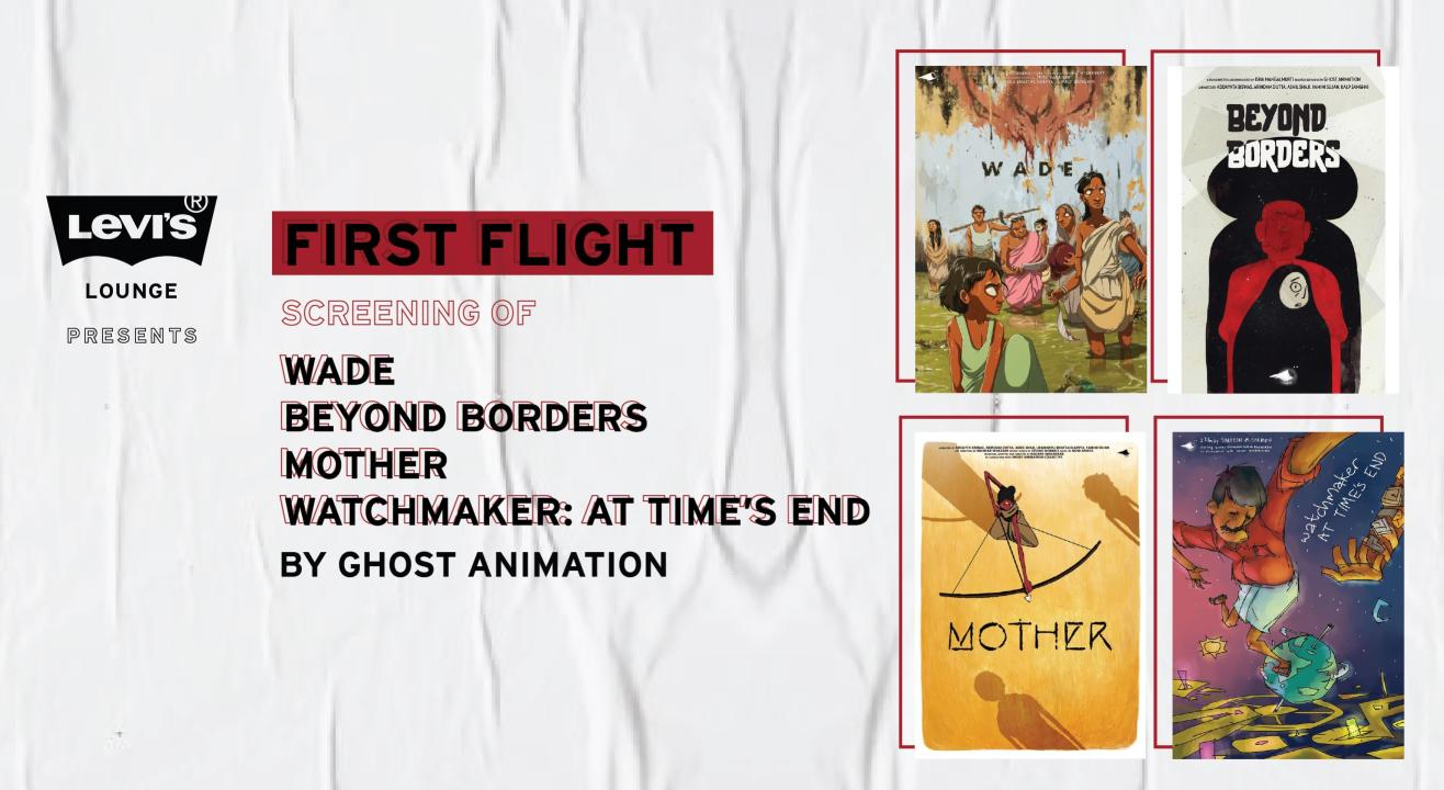 "Levi's Lounge presents The Screening of ""First Flight"""