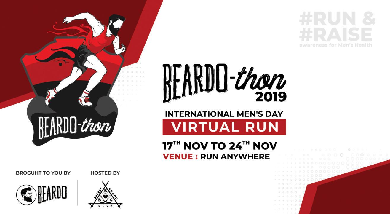International Mens Week BeardoThon Virtual Run (17th Nov - 24th Nov)