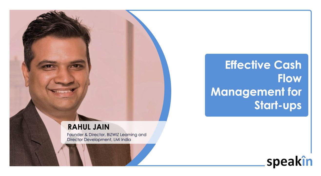 Effective Cash flow Management for Startups