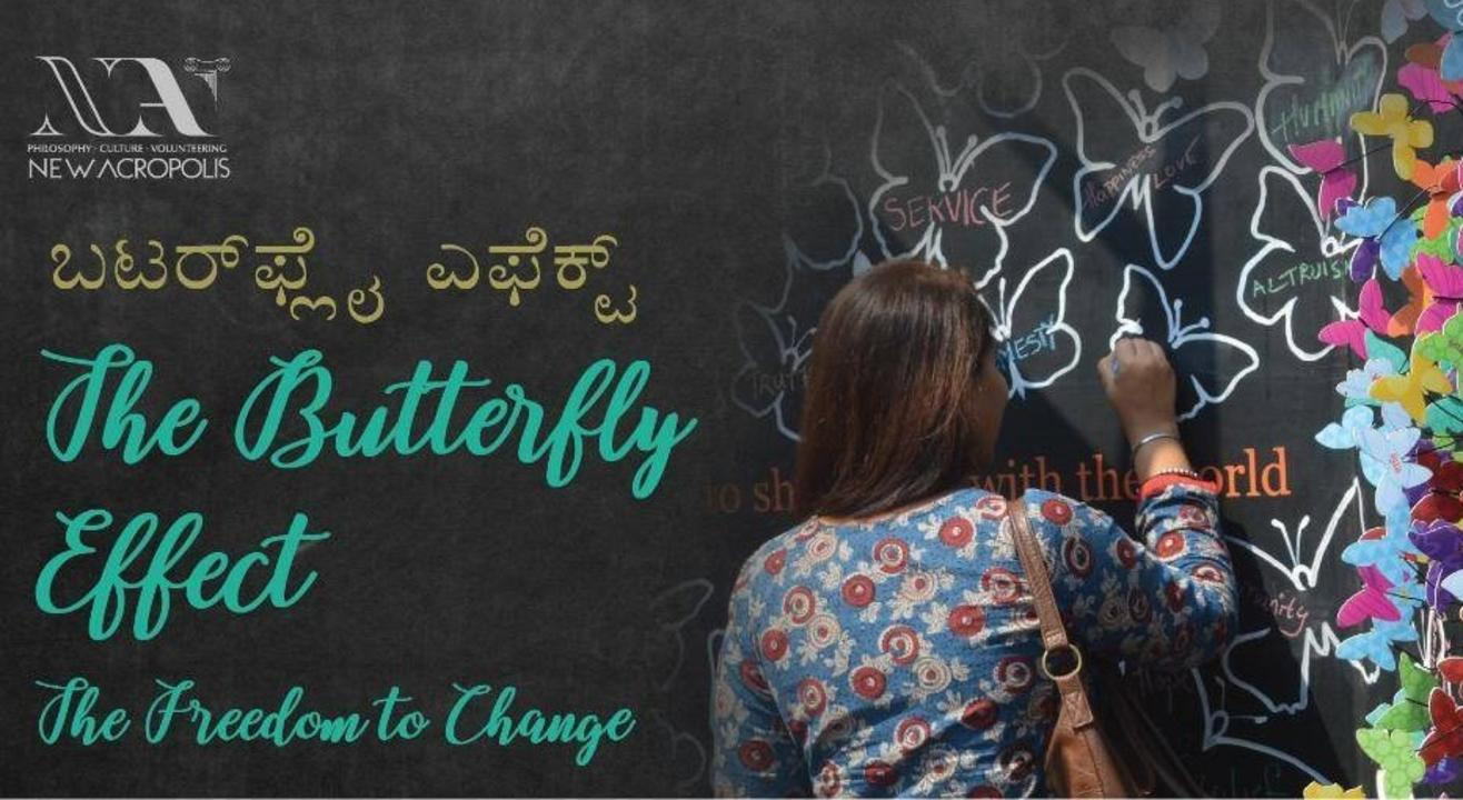 The Butterfly Effect - an Interactive Art installation