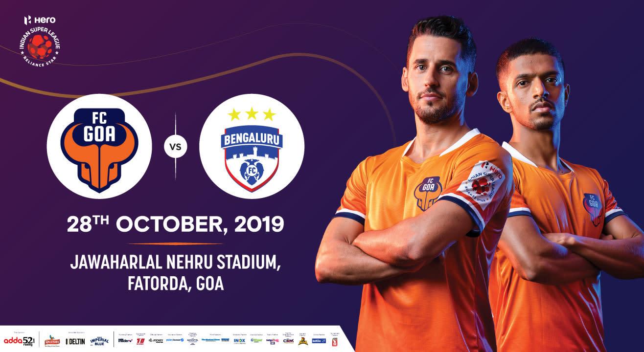 Hero Indian Super League 2019-20: FC Goa vs Bengaluru FC