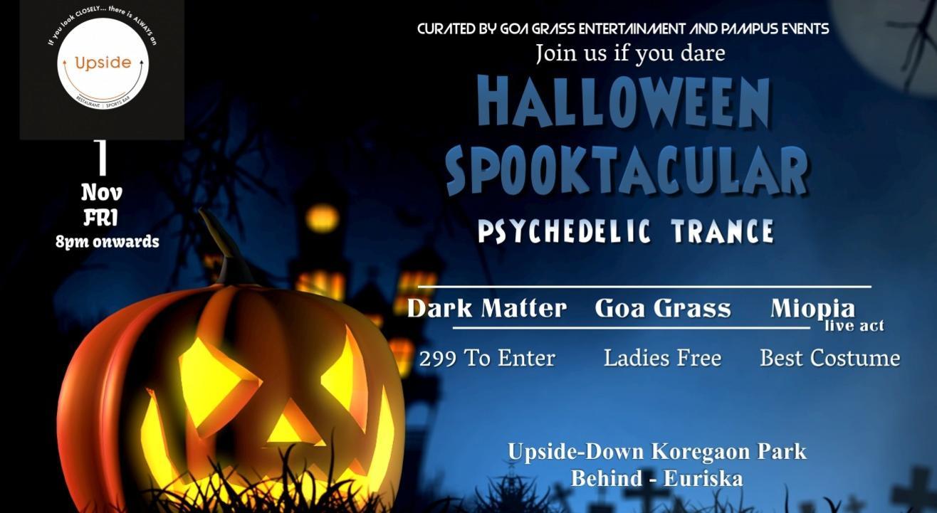 Halloween Spooktacular Psychedelic Trance