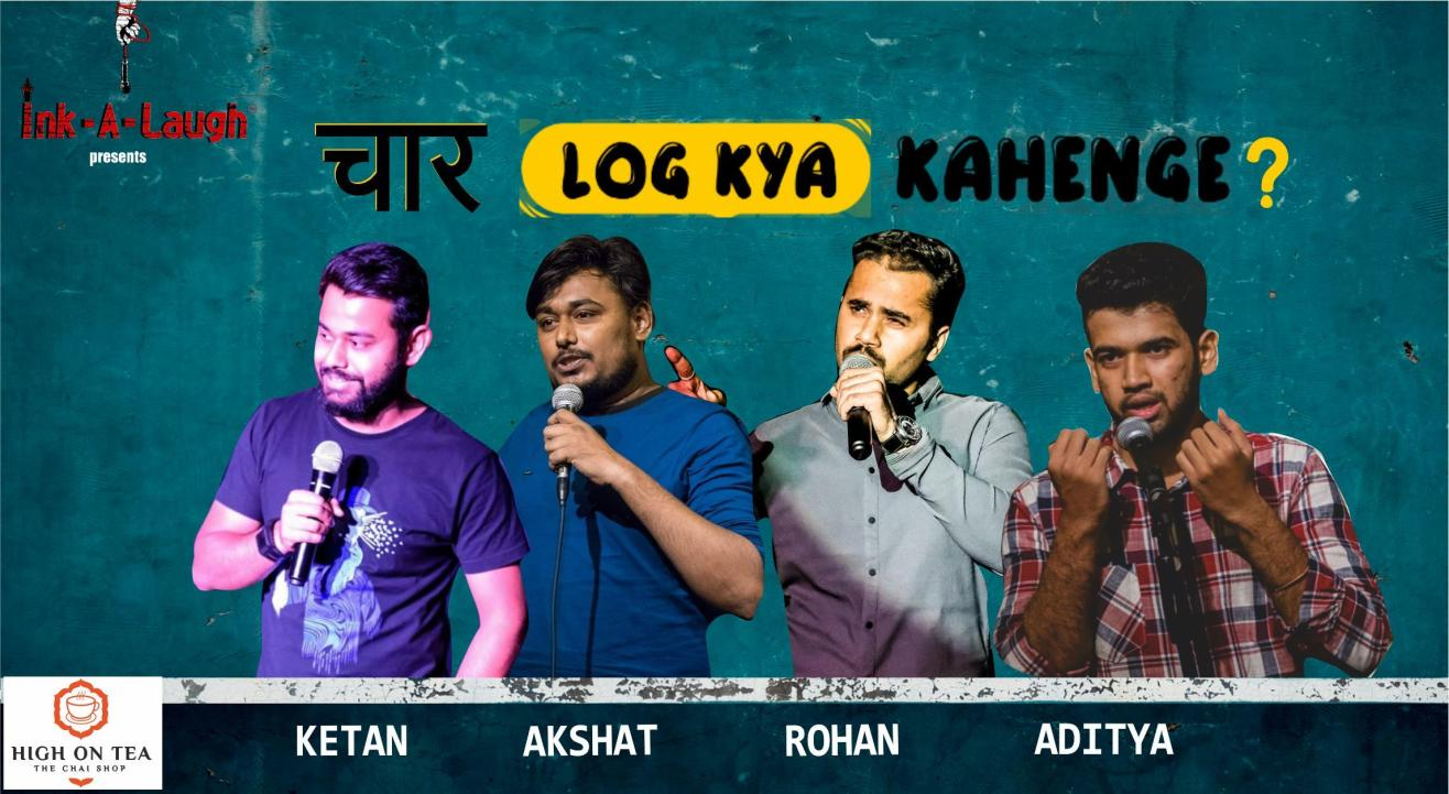 Ink-A-Laugh presents Chaar Log Kya Kahenge?