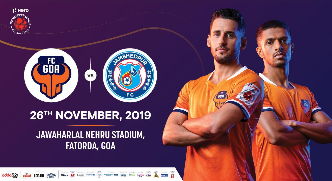 Hero Indian Super League 2019-20: FC Goa vs Jamshedpur FC