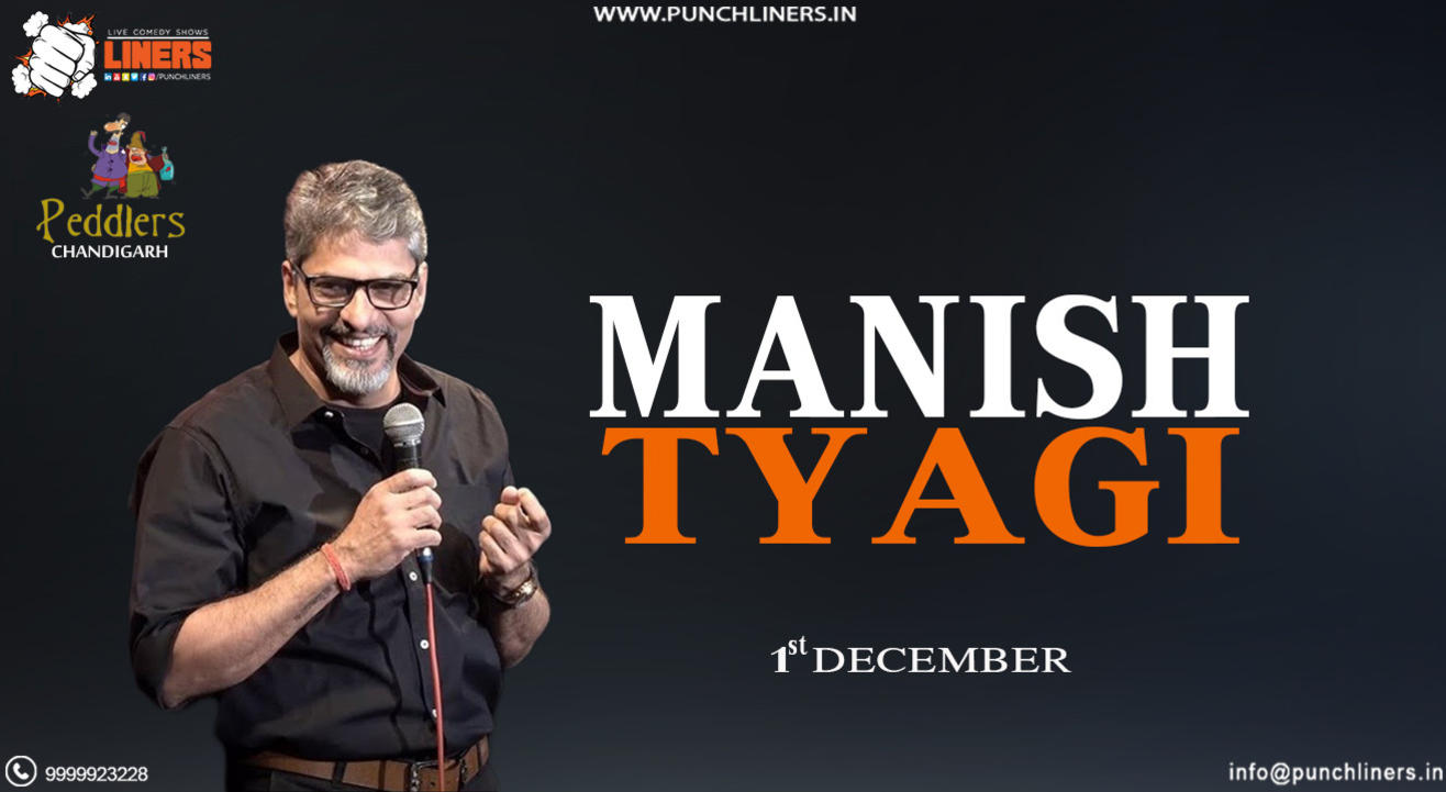 Punchliners Standup Comedy Show ft Manish Tyagi
